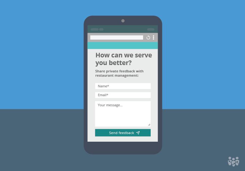 Online survey feedback